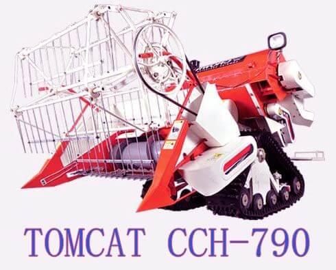 review mesin panen padi tomcat cch 790