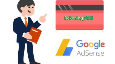 cara verif rekening adsense