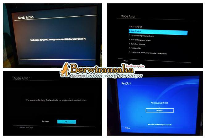 Tutorial Cara Main PS4 dengan Monitor Biasa - gedget
