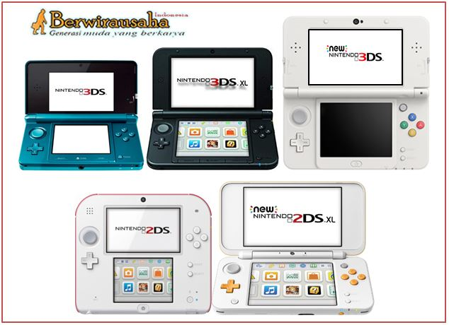 Perbedaan Nintento 3Ds, 3Ds XL, New 3Ds Xl, 2Ds dan New 2Ds Xl - artikel