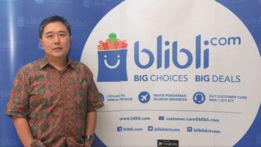 CEO dan pendiri Blibli Kusumo Martanto